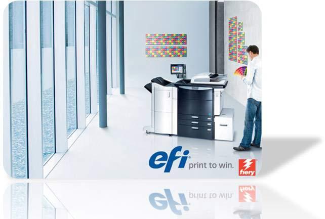 EFI professional colour management